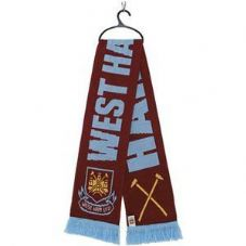 OF976 ADULT WEST HAM FC SCARF